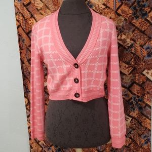 Top shop pink sweater